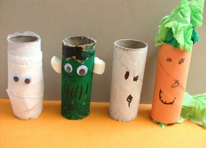 Craft Ideas-with-toilet rolls-just-for-Halloween