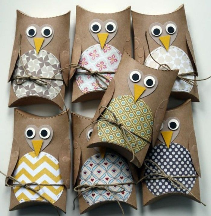 Working creatively Owl-with-brown-paper