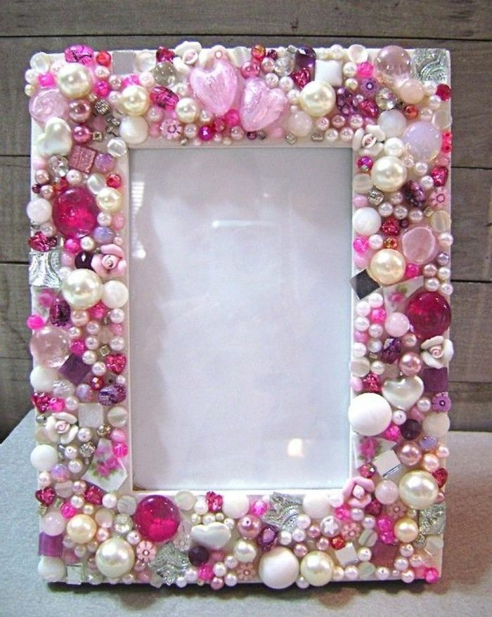 Picture Frame itself-build-in-pink color