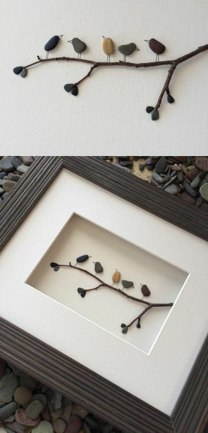 Picture Frame itself-build-with-birds