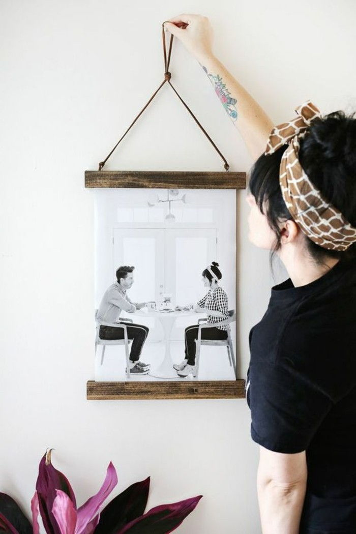 Picture Frame itself-build-and-hang