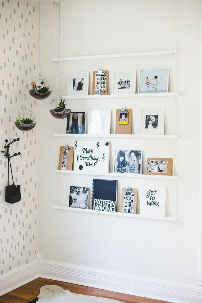 Picture Frame itself-making on shelves