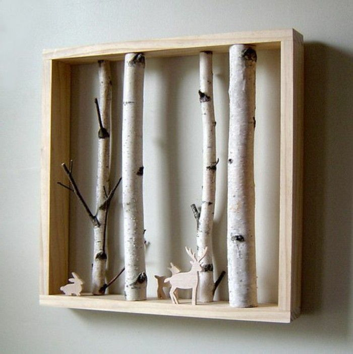 Picture Frame itself-make-from-raw wood