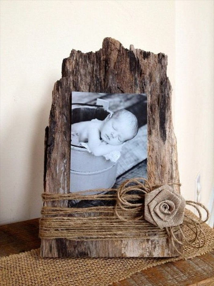 Picture Frame itself-making for baby photos
