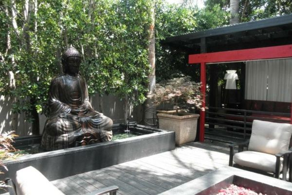 Buddha fountain-by-exterior design