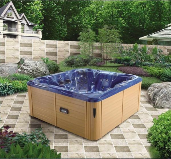 The Garden with-a-modern-Jacuzzi-make ideas
