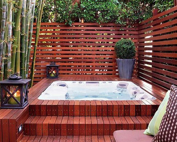 The Garden with-a-great-Jacuzzi gestalten-