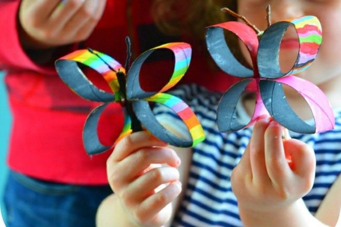 Easy-craft ideas-two-as-real-butterflies