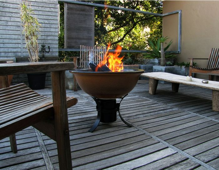 Fire bowl-with-grill-off