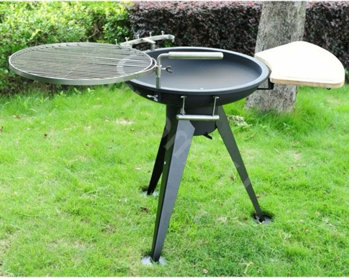 Fire bowl-with-grill-garden-gridiron