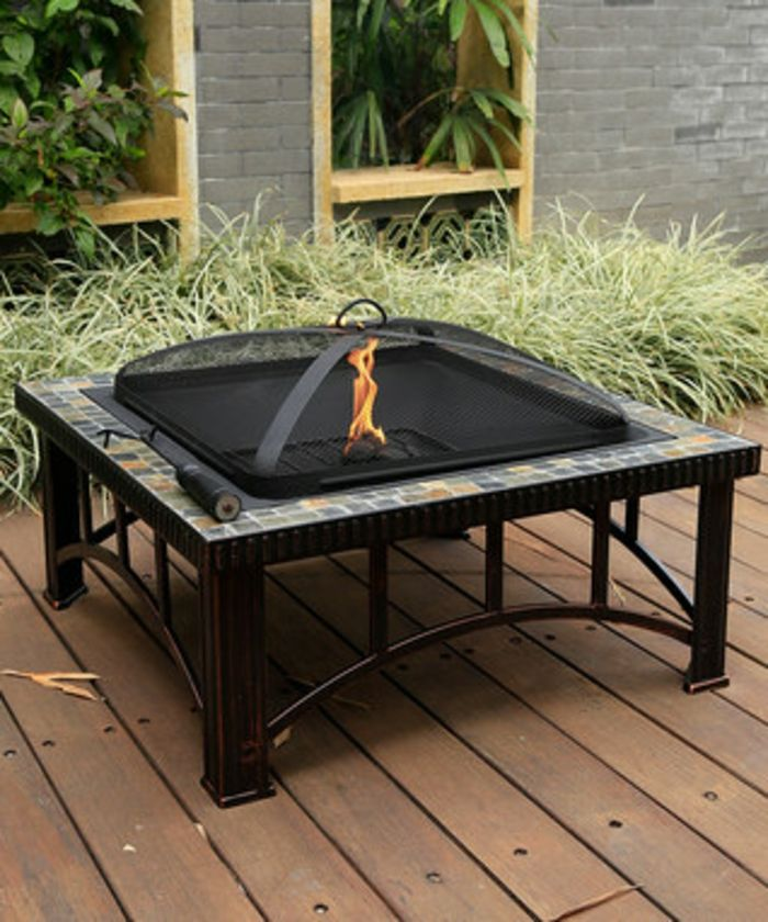 Fire bowl-with-grill-square-with-mozaik