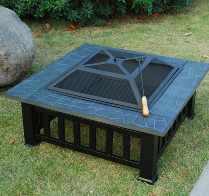 Fire shell with Grill rectangular