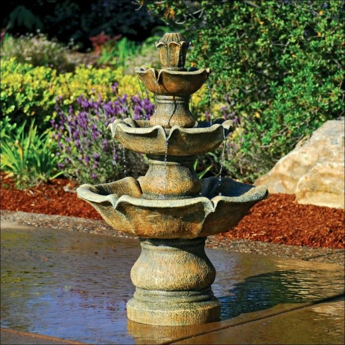 Garden Water Fountain aristocratic classic