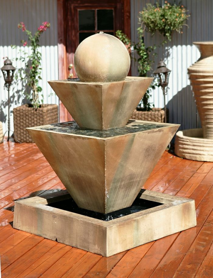 Garden Fountain original design ball