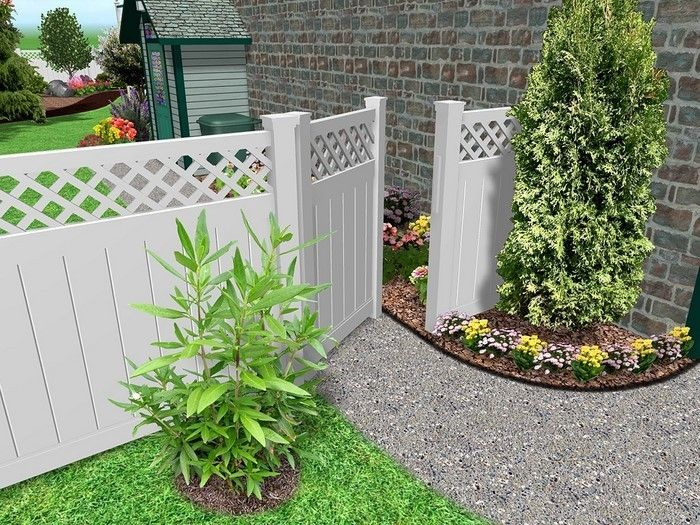 Fence-privacy-a-modern-decoration