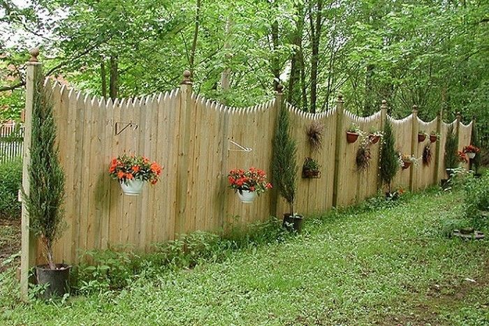 Fence-privacy-flashy design