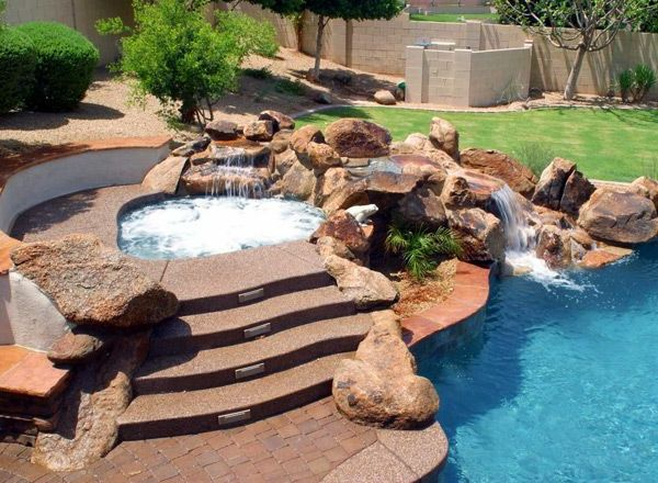 Design ideas-for-the-perfect-garden-with-Jacuzzi-
