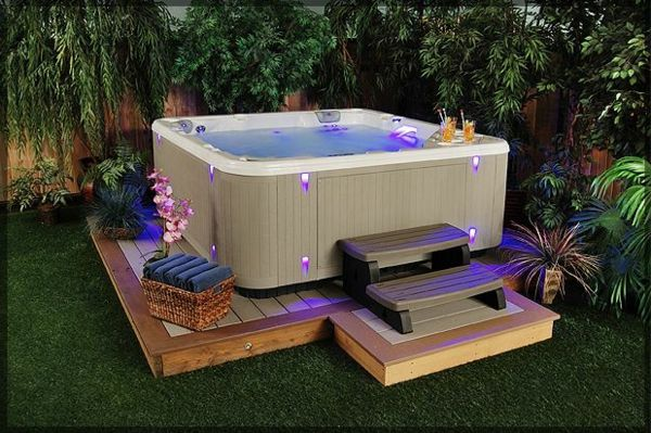 Design ideas-for-the-perfect-garden with Jacuzzi - Lighting