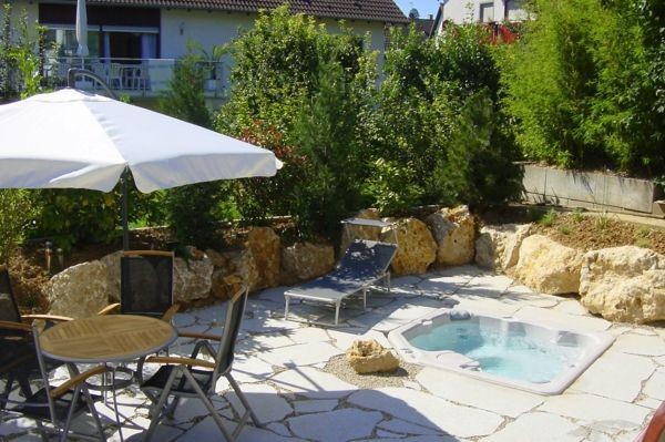 Design ideas for the perfect garden with a whirlpool