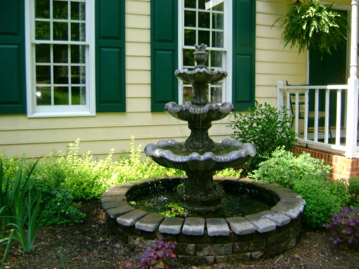 House Garden water fountain classic model