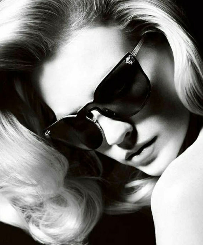 January Jones 2012 Versace Sunglasses