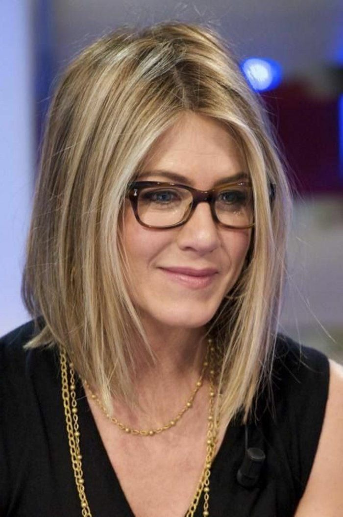 Jennifer Aniston hornbrille Elegant model