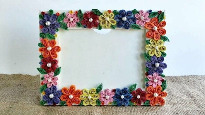 Creative picture frame-in-many-colors