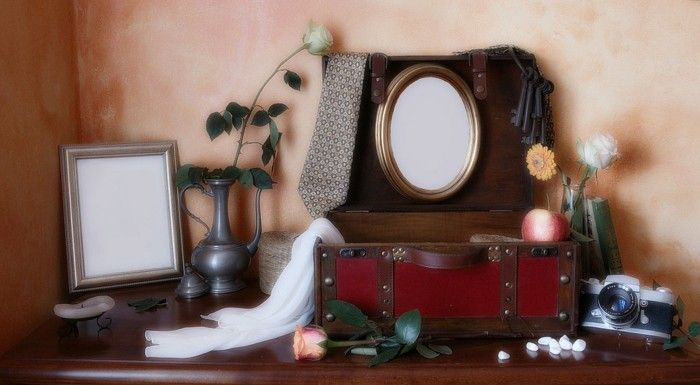 Creative Picture Frame in vintage-style