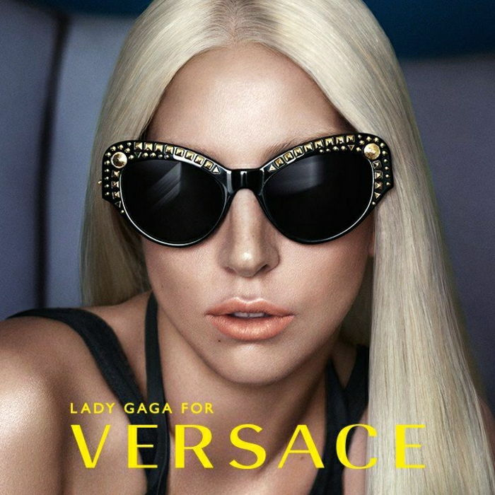 Lady Gaga Versace Sunglasses