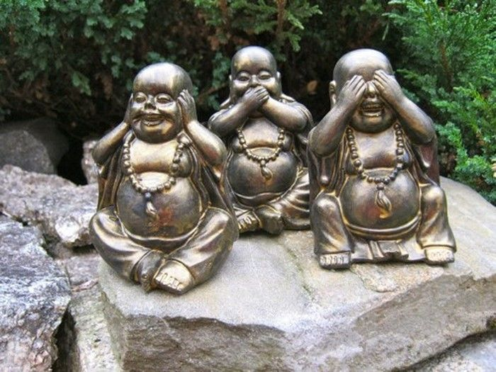Funny-garden figures-A-striking design
