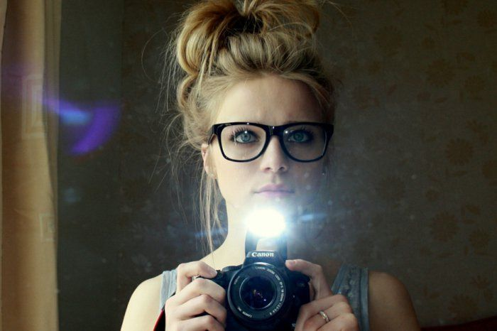 Girls Camera-nerd-glasses-hipster-style