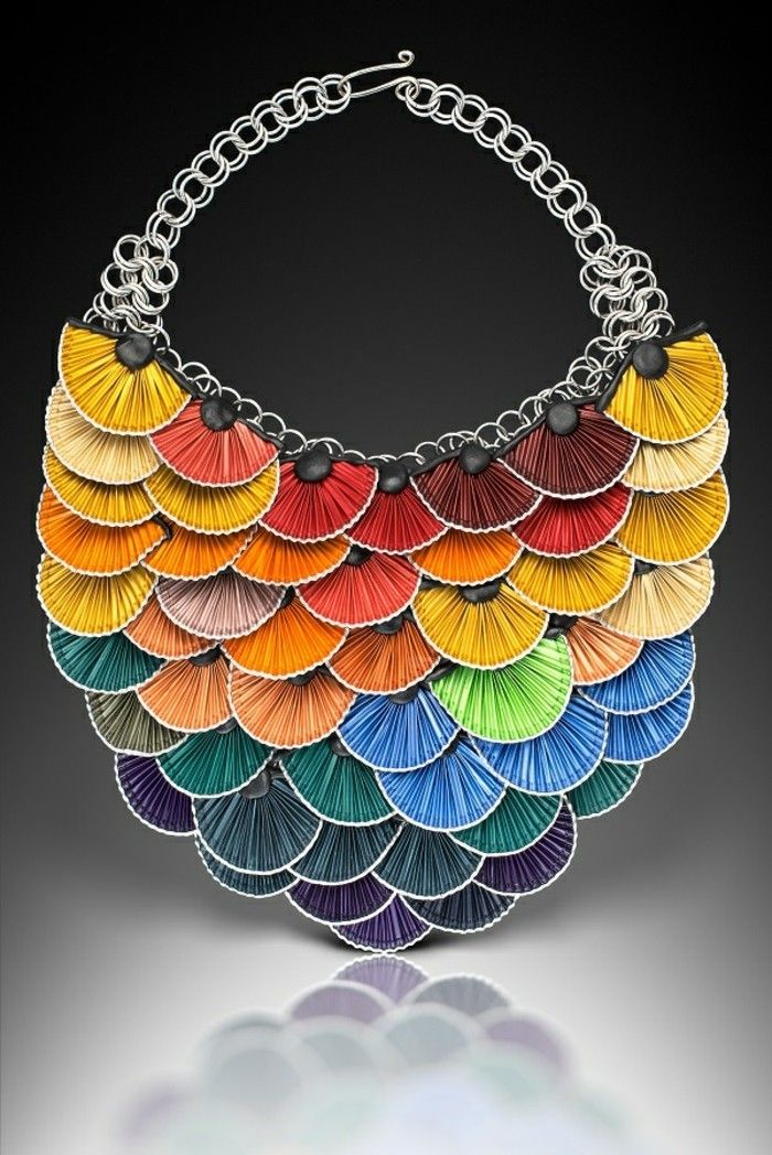 schmuck-of-coffee capsules-necklace-in-the-color-of-rainbow