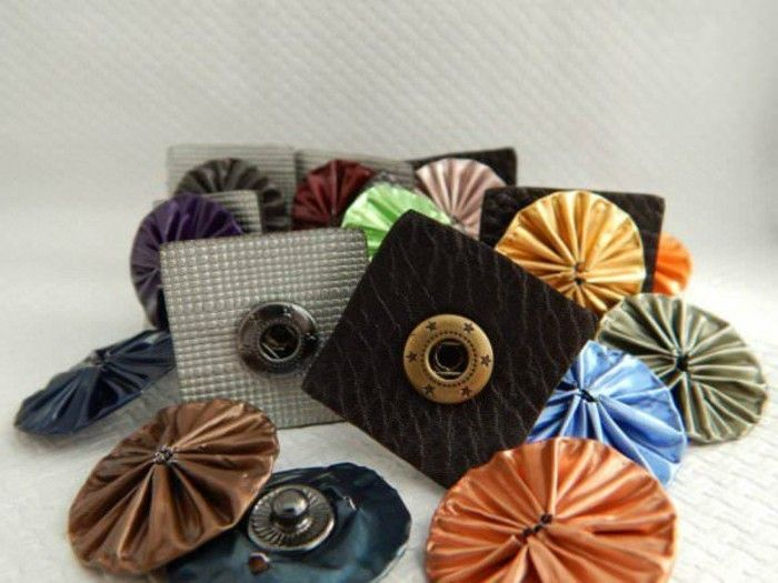 schmuck-of-itself make use coffee-capsules-with-druckknoepfen-to--