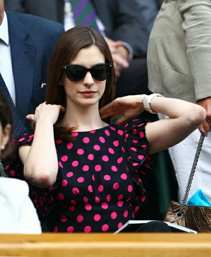 Versace cat eye sunglasses Anne Hathaway