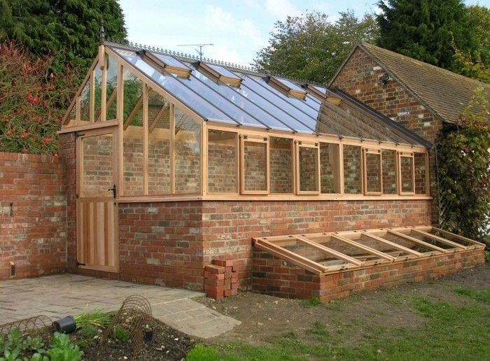 anbaugewachshaus-greenhouse-with-wood-stone-back-build-greenhouse-favorable and