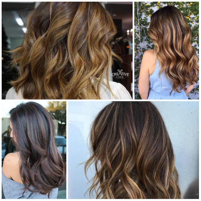 brown blond ombre ideas beautiful designs in four design options