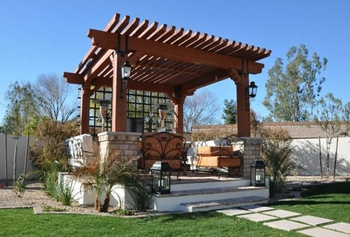 attractive-design-pergola-of-wood-modern-design