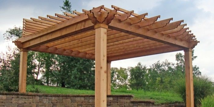attractive-model-pergola-look-of-wood-cool
