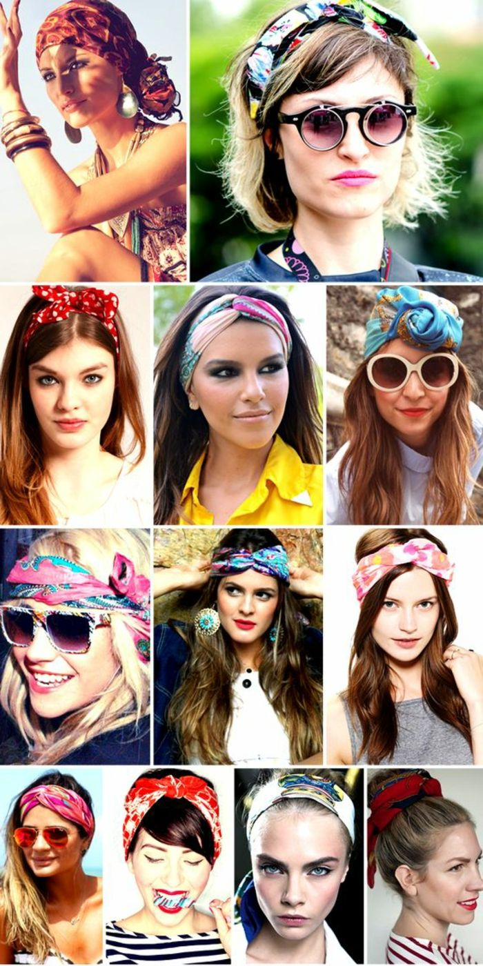 curly hair, sunglasses, colorful hair towels, hairstyles