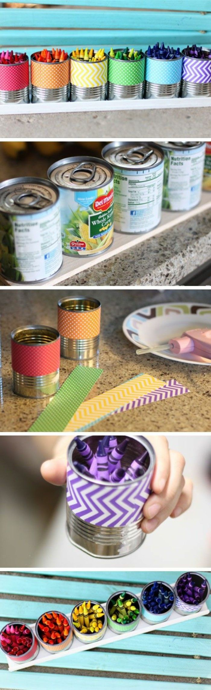 tinker-with-cans-decorate-colorful-pastel pencils-paper-diy-teller