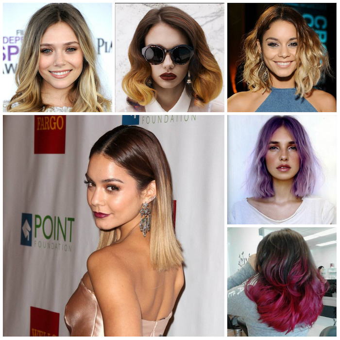 ombre brown ideas for designing six possible designs women with ombre
