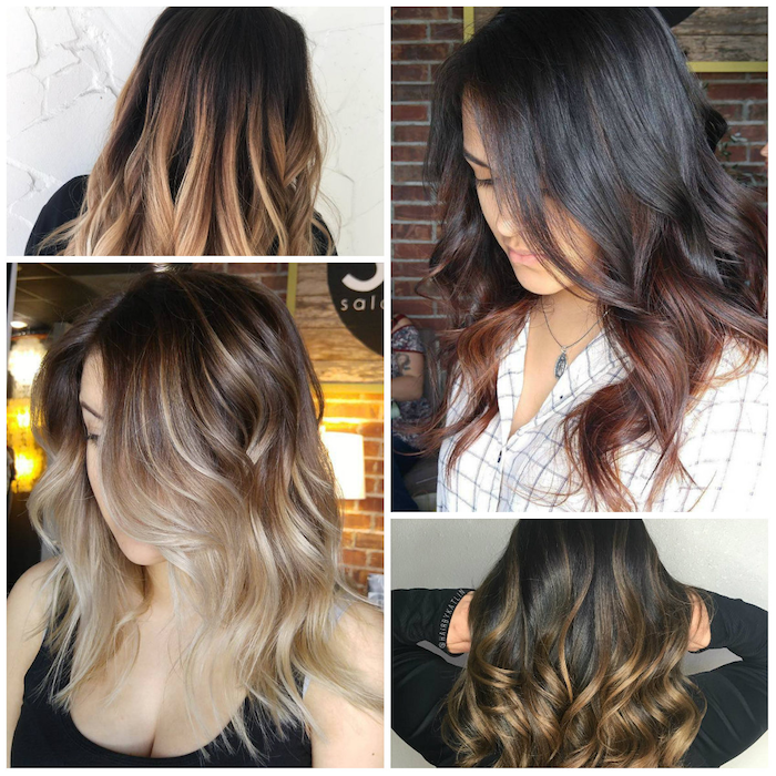 ombre brown ideas to design ideas blond red chestnut color hair ideas