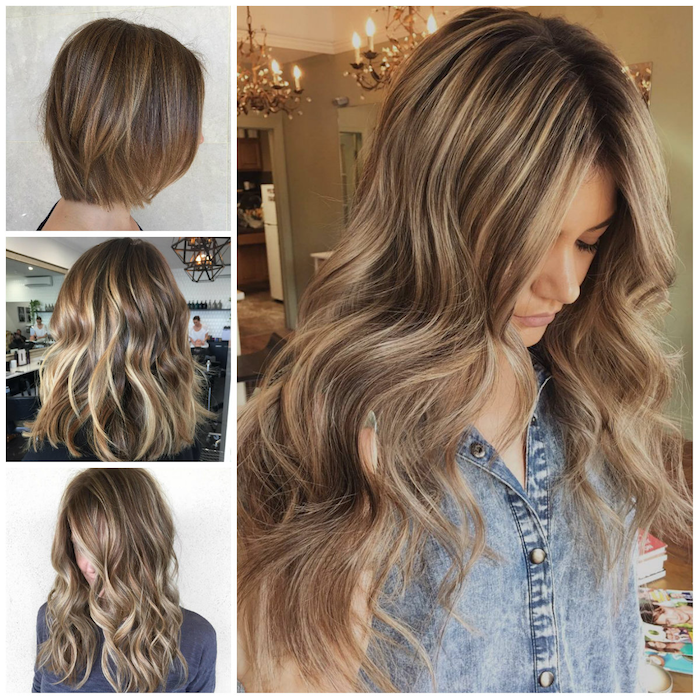 ombre blond hairstyle for any length jeans curls hairstyles for women ideas design