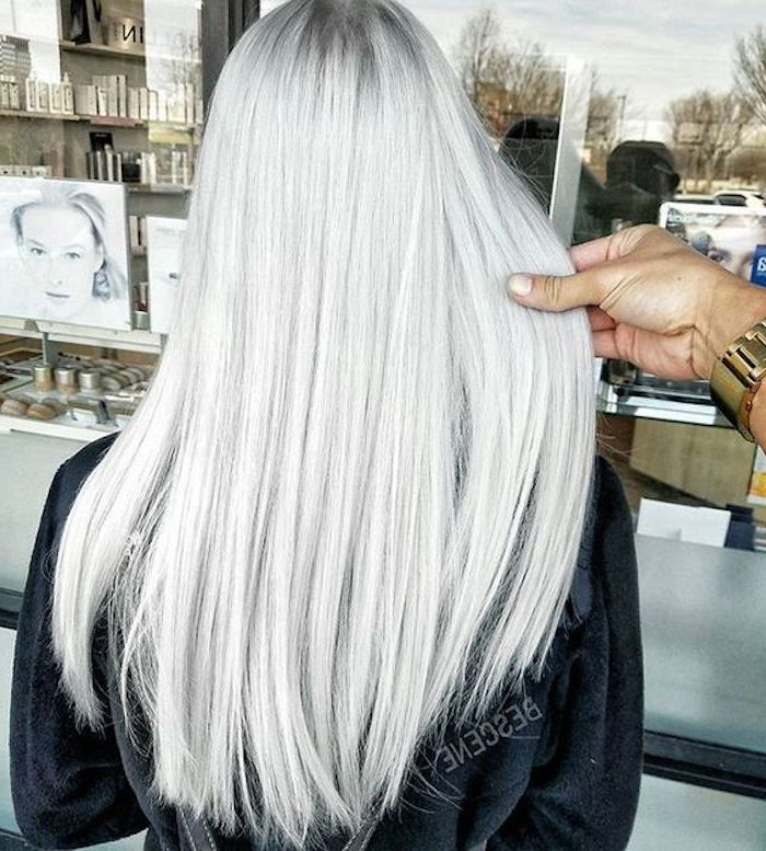 silver blonde - how to achieve this nuance of blond in some steps