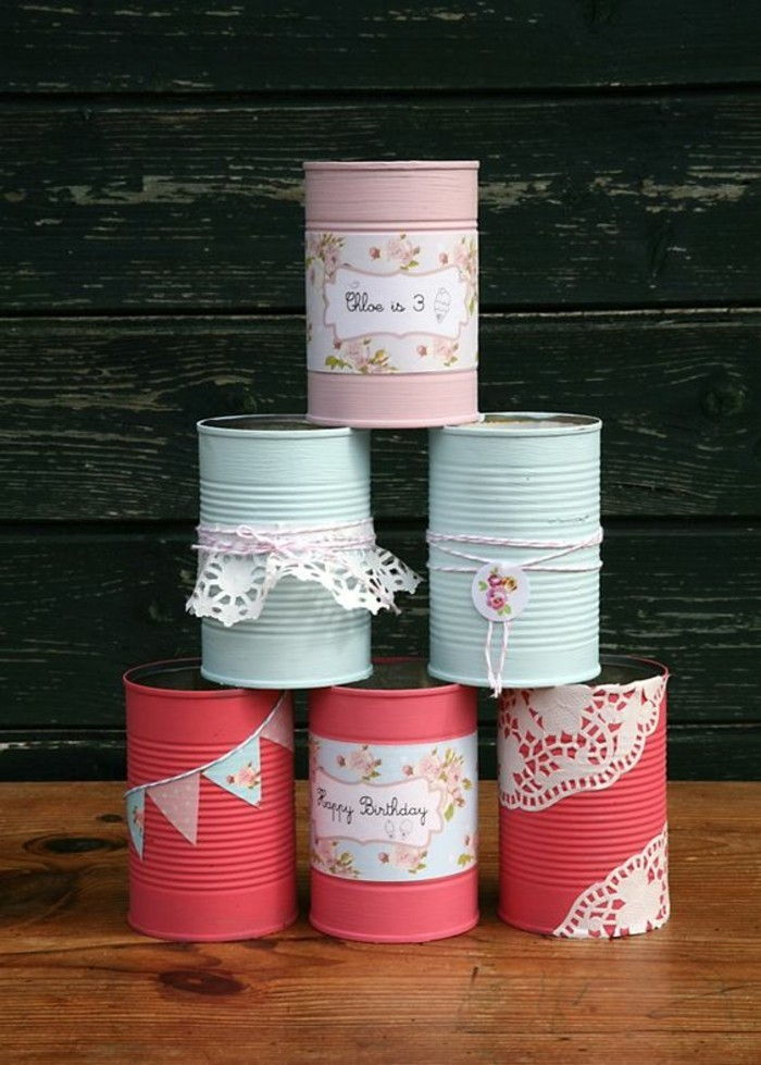 cool-things-tinker-colorful-cans-pointed-tin cans-deco-thread-paper