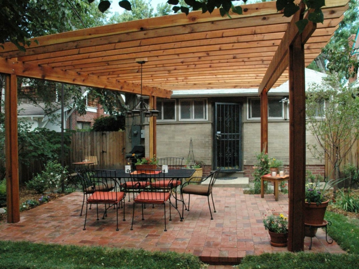diy-model-pergola-of-wood-romantic-design-of-garden