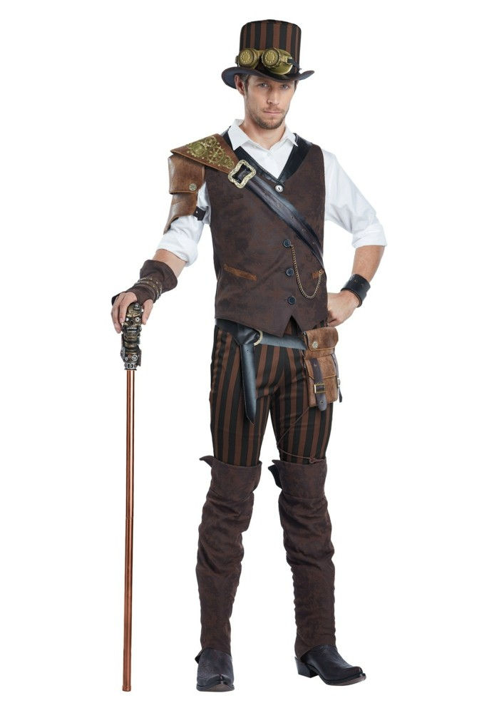 one-man-with-a-steampunk-clothing-pants-hat-walking stick-vest