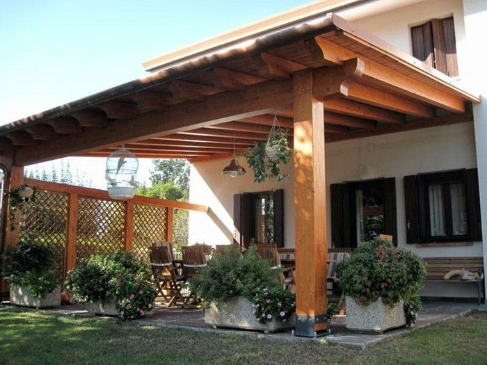 unique-design-of-house-attractive design-pergola-from-wood