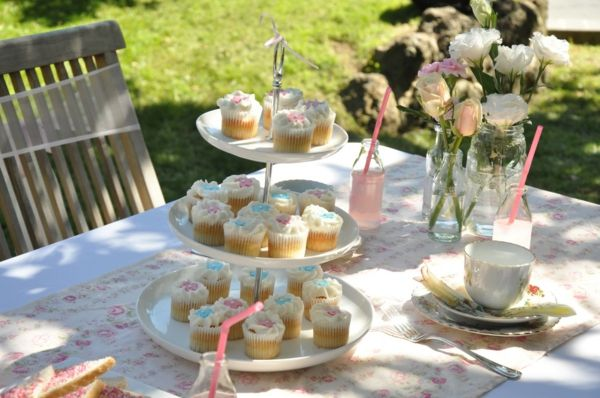 Gartendeko-party deco-ideas-beautiful-ideas - cupcakes ideas