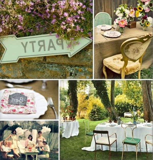 Gartendeko-party deco-ideas-beautiful-ideas - party-ideas